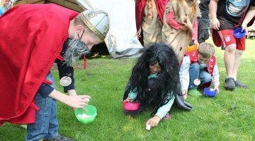 Wikingerlager<br> Großheide 2015
