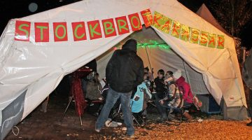 Stand auf dem Weihnachtsmarkt Bad Marienberg 2018