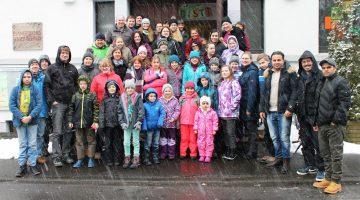CVJM Bad Marienberg sammelt Weihnachtsbäume für gute Zwecke